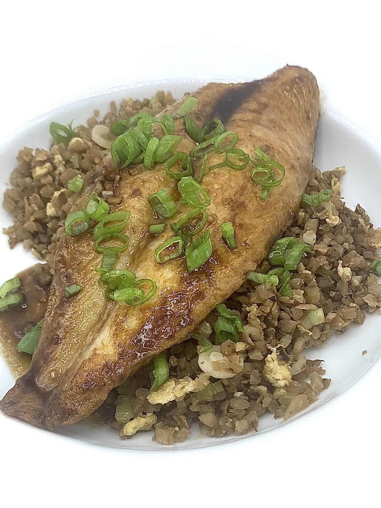 Garlic Soy Fish